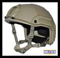 М/Lg ДЕ Морской Cut NIJ уровень IIIA 3А БЫСТРОЕ Пуленепробиваемые Кевларовые Шлем (с Протокол Испытаний)/опс Core DE Tan БЫСТРО Баллистических Шлем