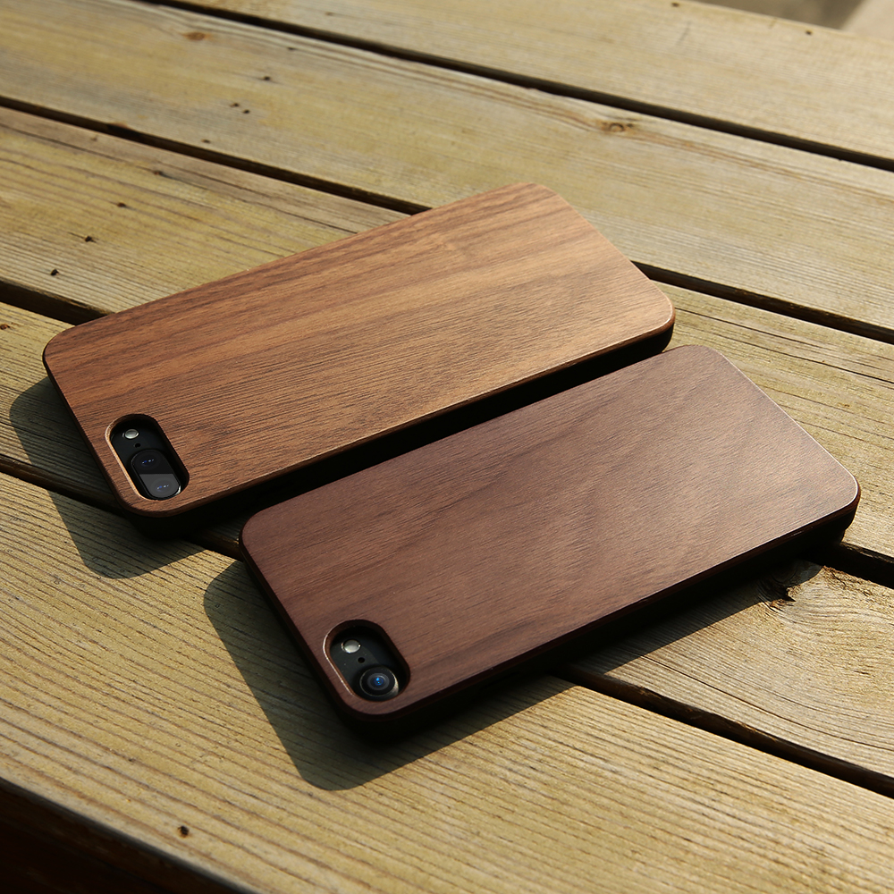 DOEES Wood Phone Cases For iPhone X 8 7 6S 6 Plus 5 5S SE Cover Natural Wood Hard Protective Case For iPhone X 5S SE 6S 7 8 Plus