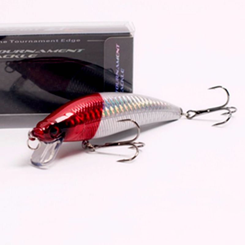 1Pcs/Box High Quality Japan Fishing Bait Minnow Crankbait leurre dur Pike Lure Isca Artificial Pesca Tackle Wobbler 98mm 13g 1pcs fishing lure bait minnow with treble hook isca artificial bass fishing tackle sea japan fishing lure 3d eyes