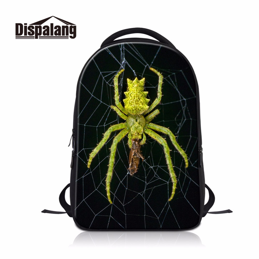 Dispalang Bakcpack insect pattern Cool Laptop bags BackPack for College Large Bookbag for men Boys girls High Quality School bag
