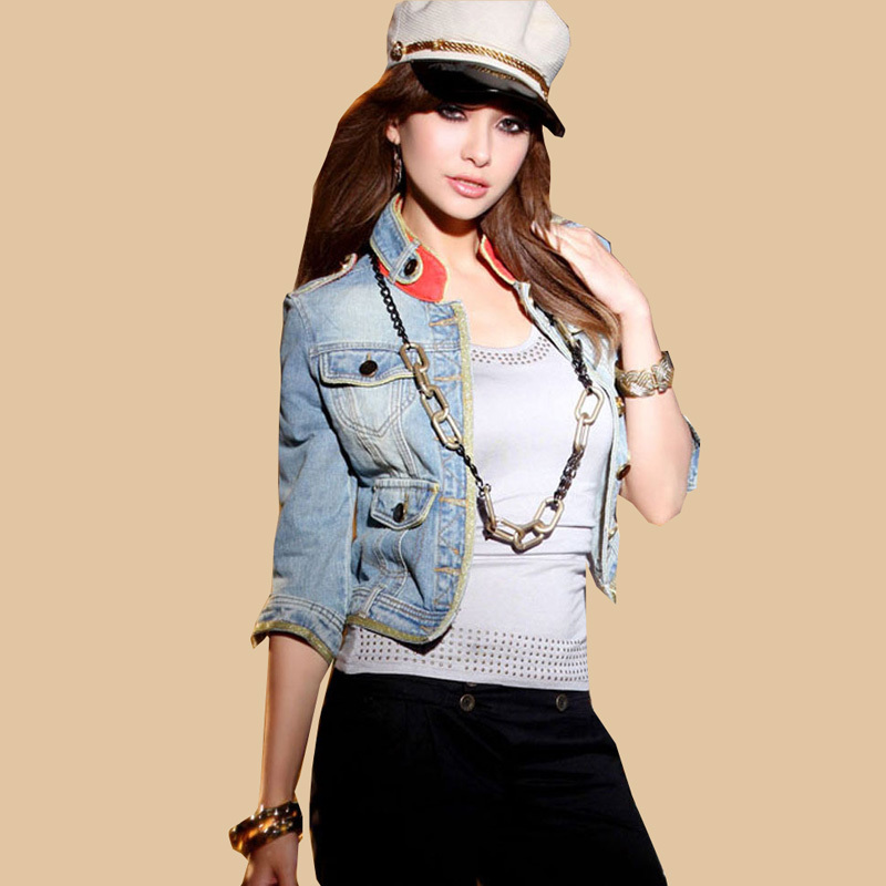 Compare Prices on Denim Half Jacket- Online Shopping/Buy Low Price