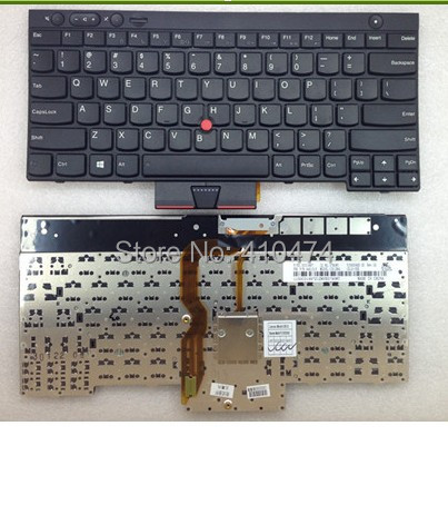New Free Shipping US Laptop Keyboard for Lenovo IBM ThinkPad T430 T430I T430S X230 W530 original laptop keyboard for ibm lenovo thinkpad t460p us keyboard 00ur395 free shipping