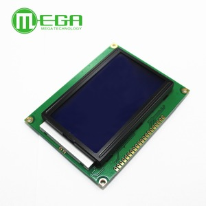Image 3 - 12864 128x64 Dots Graphic Yellow Green/Blue Color with Backlight LCD Display Module ST7920 Parallel Port for arduino Diy Kit