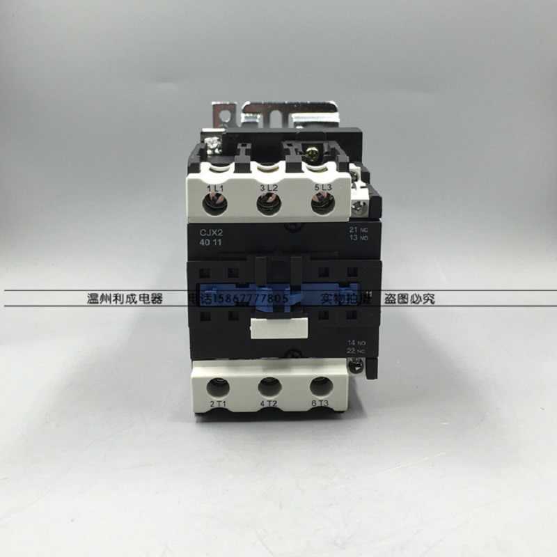 DC contactor CJX2-4011/Z contactor LP1-4011 DC12V24V48V110V22V silver point sayoon dc 12v contactor czwt150a contactor with switching phase small volume large load capacity long service life