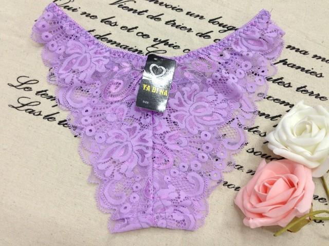 360 pcs wholesale Sexy lace princess briefs ladies underwear