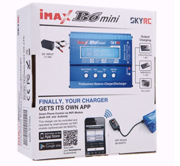 Original SKYRC Mini Imax B6 60W Balance Charger Professional Discharger For Toys SPORT Battery Charging