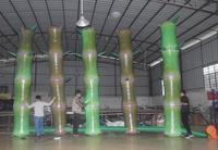 LED illuminated Bamboo Inflatable Lighting Product Garden Decoration