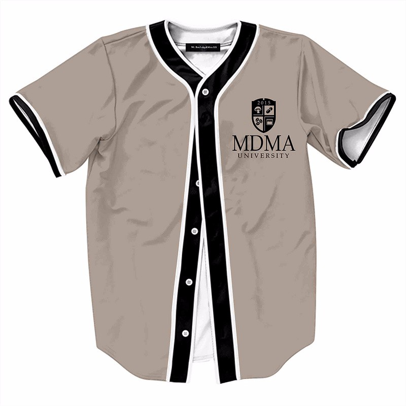 3D Printed T Shirt Men 2017 Mens Fashion Baseball Jerseys Casual ...