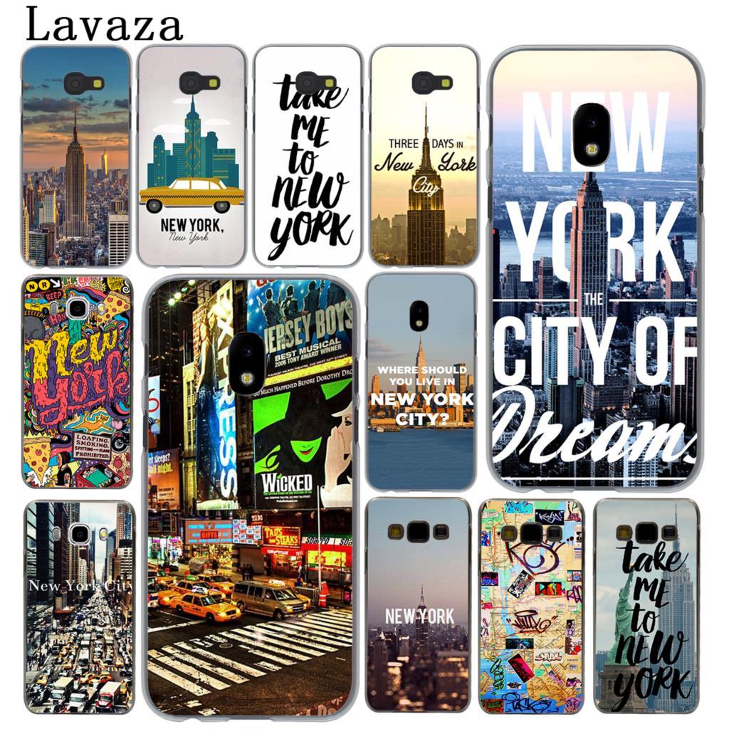 Lavaza New York City Hard Phone Case for Samsung Galaxy J5 J1 J2 J3 J7 2017 2016 2015 2018 J3 J5 Prime Cover