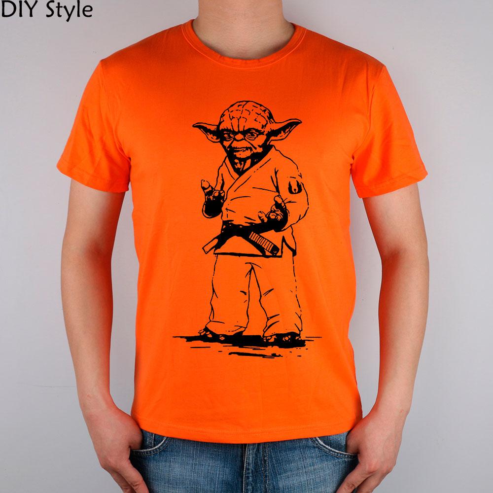 STAR WARS yoda JUDO JIU JITSU T-shirt Κορυφαία λουράκι - Ανδρικός ρουχισμός - Φωτογραφία 5