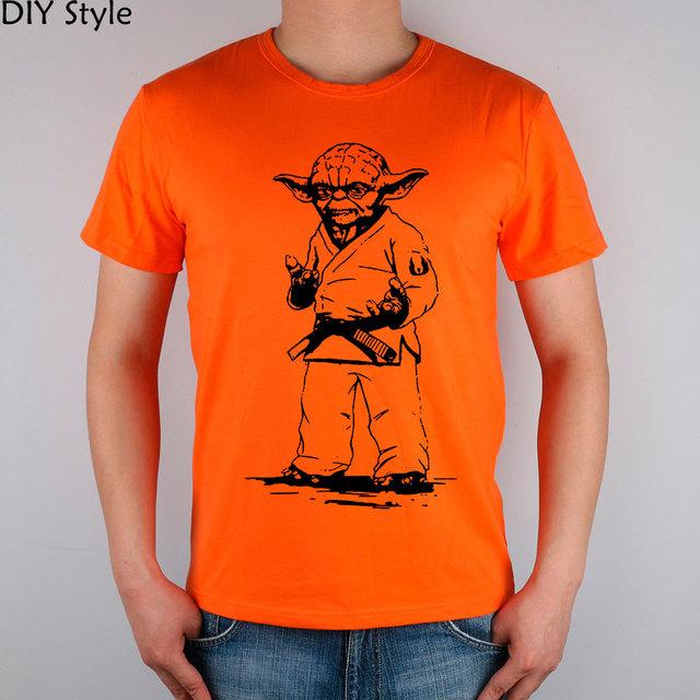 STAR WARS Yoda JUDO Men T-shirt