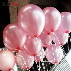 1,5g globo de látex inflable decoraciones de boda Bola de aire Feliz cumpleaños fiesta suministros globos 10 pulgadas bolas flotantes