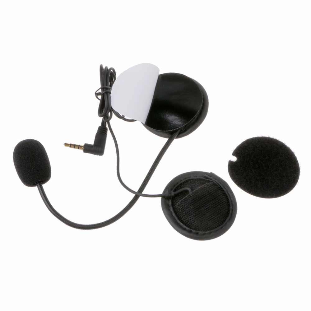Новый микрофон динамик мягкий кабель аксессуар для гарнитуры для мотоциклетного шлема Bluetooth домофон работает с 3,5 мм-разъем C45