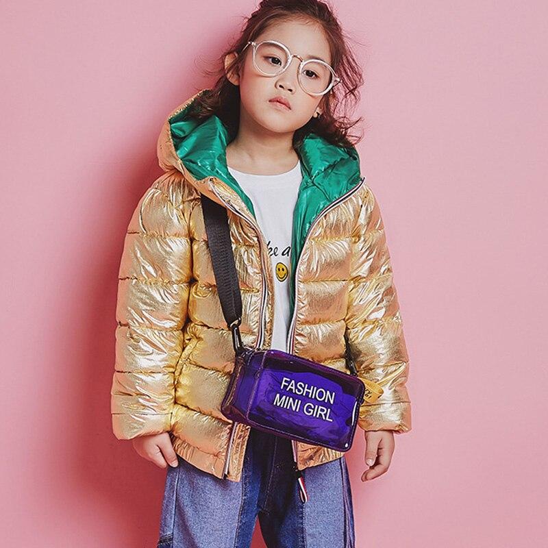 HH ruso niño niña plata invierno parka real de piel de Abrigo con capucha niños trajes de invierno adolescente largo abajo chaqueta 4 6 12 años