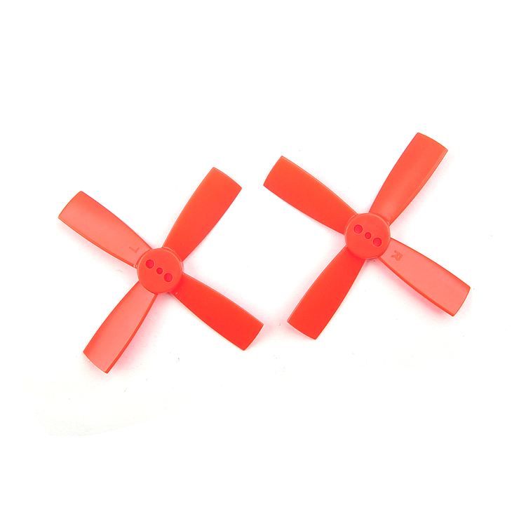 10Pairs <font><b>2035</b></font> <font><b>Propellers</b></font> 50mm 4- ABS <font><b>Propeller</b></font> 1.5mm Mounting Hole for 80-11 RC Micro Brushless FPV Racer Drones F20439 image