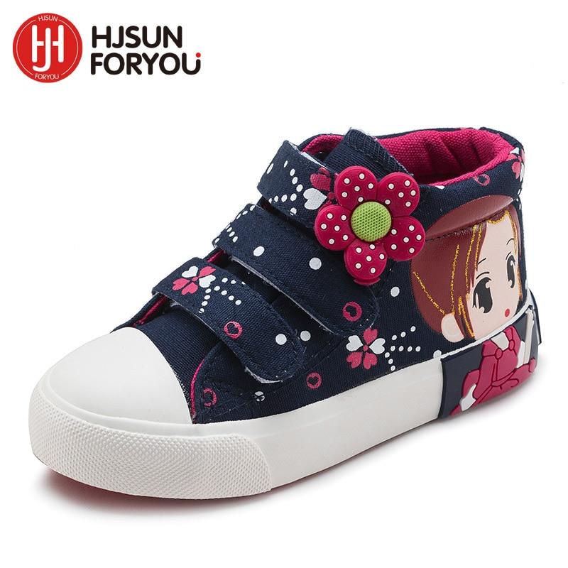 2019 primavera otoño niños zapatos de lona de moda para niñas - Zapatos de niños - foto 4