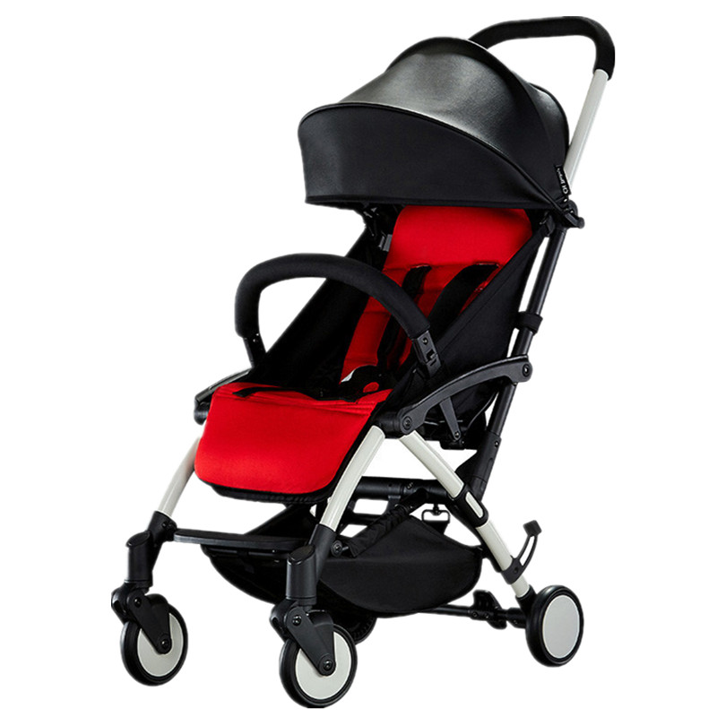 Luxury Light Foldable KidsTravel Baby Stroller Bebek Arabasi Poussette Pushchairs Pram For Baby все цены