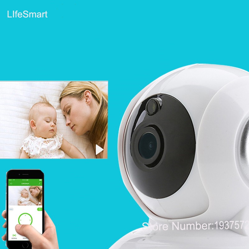 4-Lifesmart Home Automation Smart IP Camera Wifi Wireless Remote Control CCTV Camera for Security Alarm Night Vision 720P NTSCPAL