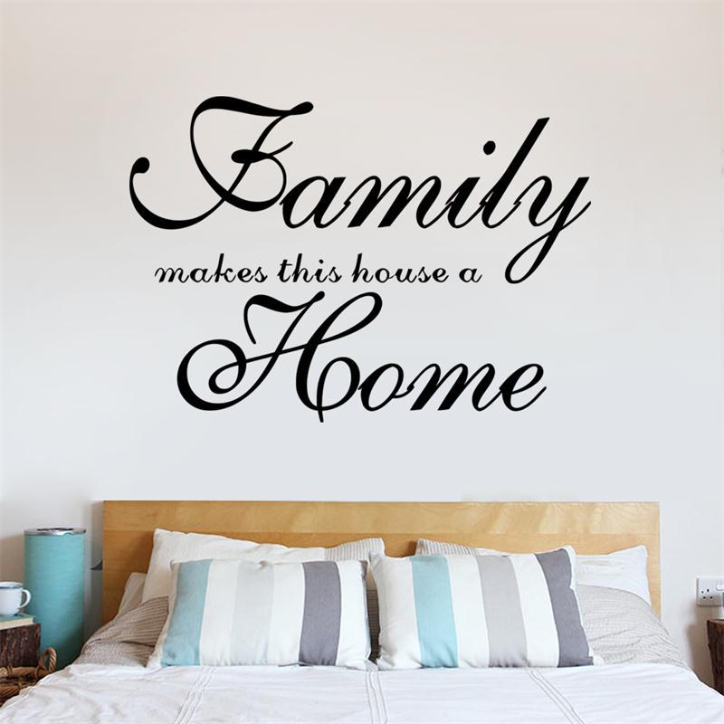 Home Garden Family Wall Art Quote Wall Sticker Vinyl Decal Home Art