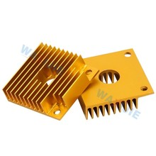 Makerbot MK7/MK8 HeatSink Cooler Radiator 40*40*11mm Aluminum Heat Sink For MK7 MK8 Extruder 3D Printer Parts
