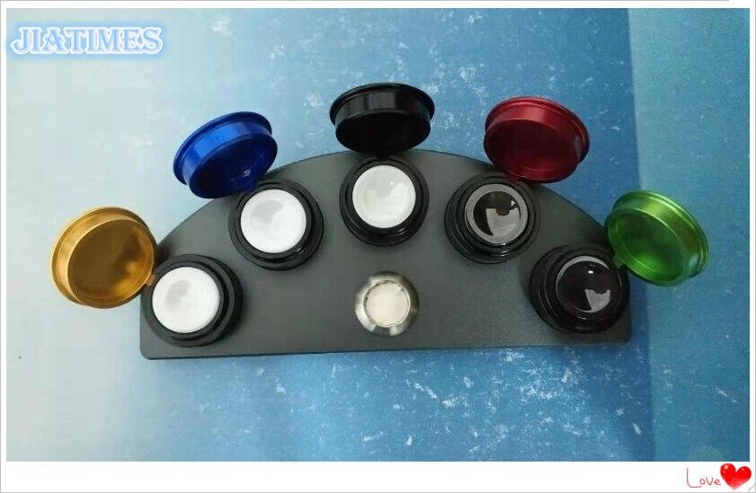 ¡Nuevo! Tazas de aceite soporte de aleación troquelada con 5 contenedores de colores Reparación de reloj-in Kits y herramientas de reparación from Relojes de pulsera    1