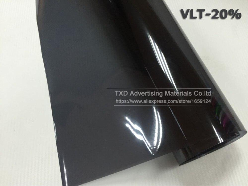 50 см X 300 см Автомобильная оконная Тонирующая пленка стекло VLT 25% 2PLY Авто Дом Коммерческая Солнечная защита Лето