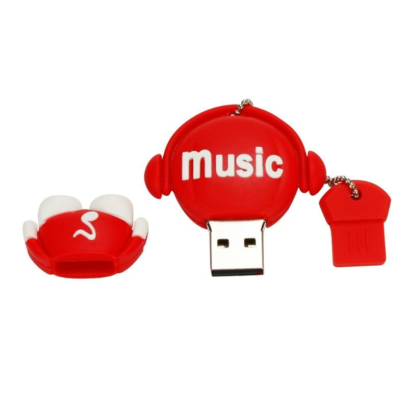 Image 5 - Classic Pen Drive Music Robot 4GB 8GB 16GB Usb Flash Drive 32GB 64GB High Quality Pendrive Usb 2.0 Flash Memory 128GB Usb Stick-in USB Flash Drives from Computer & Office