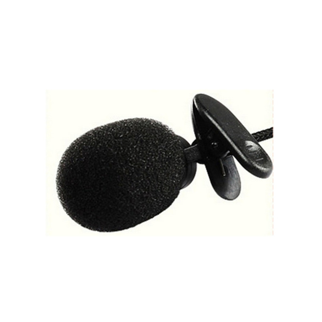 Portable for Lecture Teaching Conference Guide Studio Mic 3.5mm Mini Headset Microphone Lapel Lavalier Clip Microphone