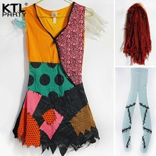 Children Adult womenThe Nightmare before Christmas Children Sally costume dress Halloween party costume for kid( & Buy costume sally and get free shipping on AliExpress.com