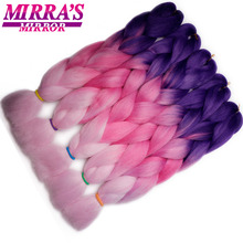 Mirra's Mirror Synthetic Braiding Hair Extensions Crochet Hair