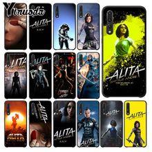 Yinuoda Alita Battle Angel Black TPU Soft Phone Case Cover For huawei p20 pro p20lite mate10pro nova 3i mate20 Mobile Cases
