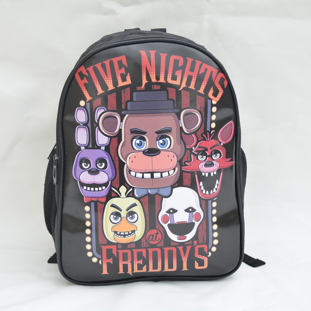 16 Inch Five Nights at Freddy's backpack fashion children mochila boys girls school bag teenagers printing cartoon backpacks