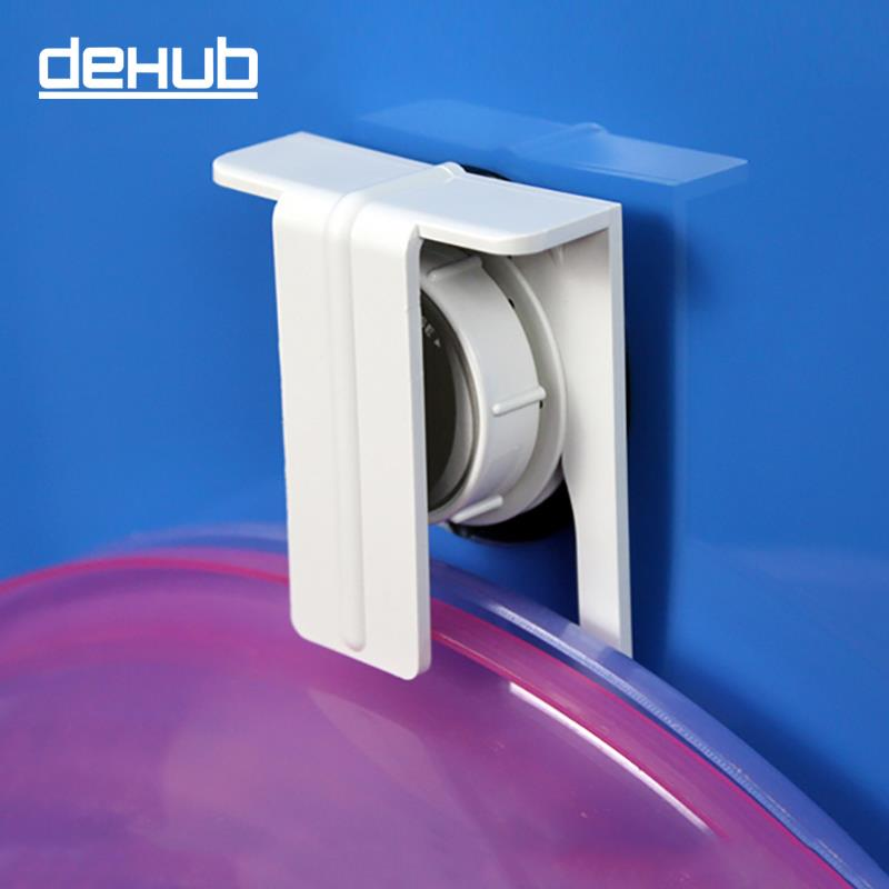 korea dehub suction wall waterproof tub basin hook hanger clip baby basin washbasin holder. Black Bedroom Furniture Sets. Home Design Ideas