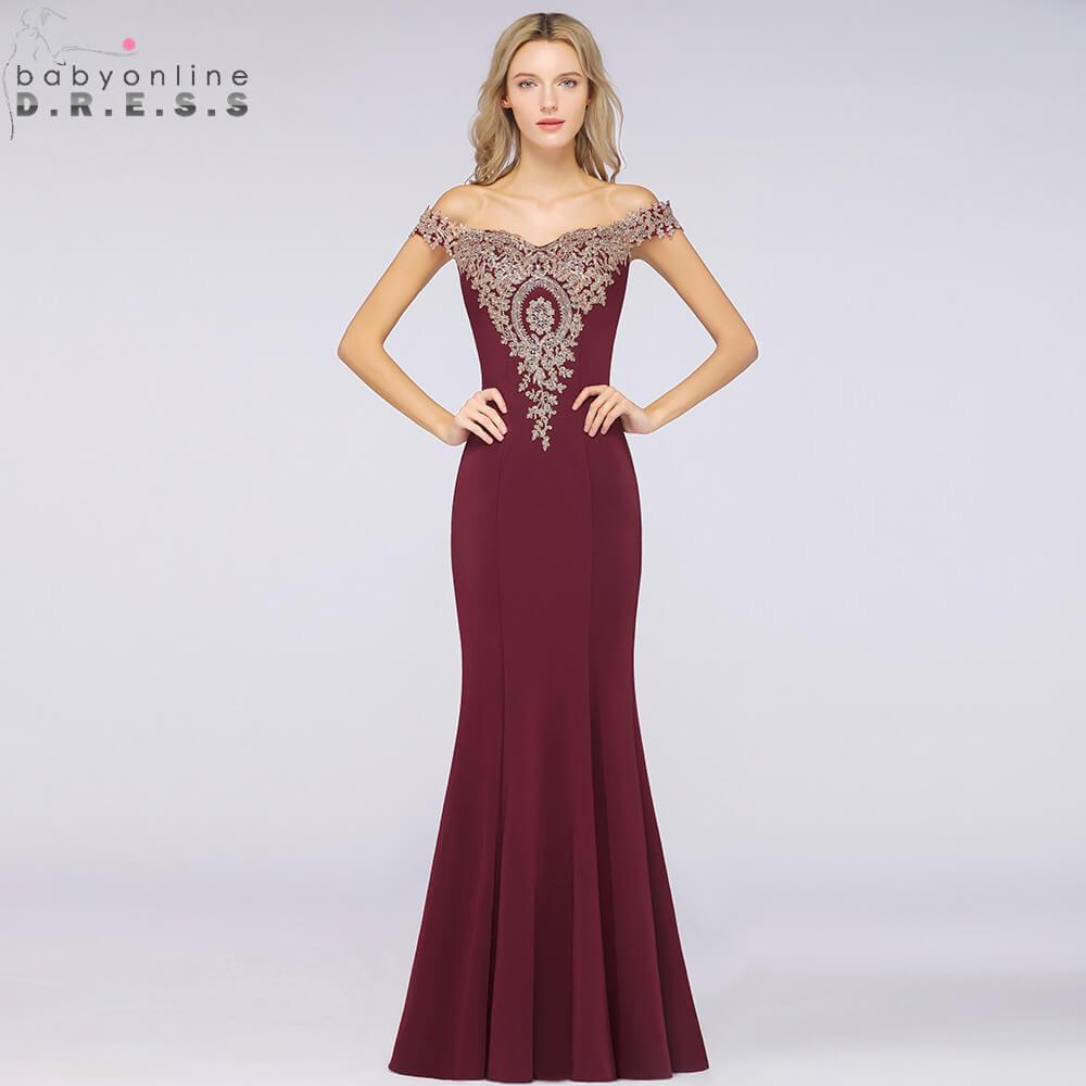 Robe De Soiree New Burgundy Lace Crystals Evening Dress 2019 Elegant Pink Cap Sleeve Evening Party Dresses Vestido De Festa
