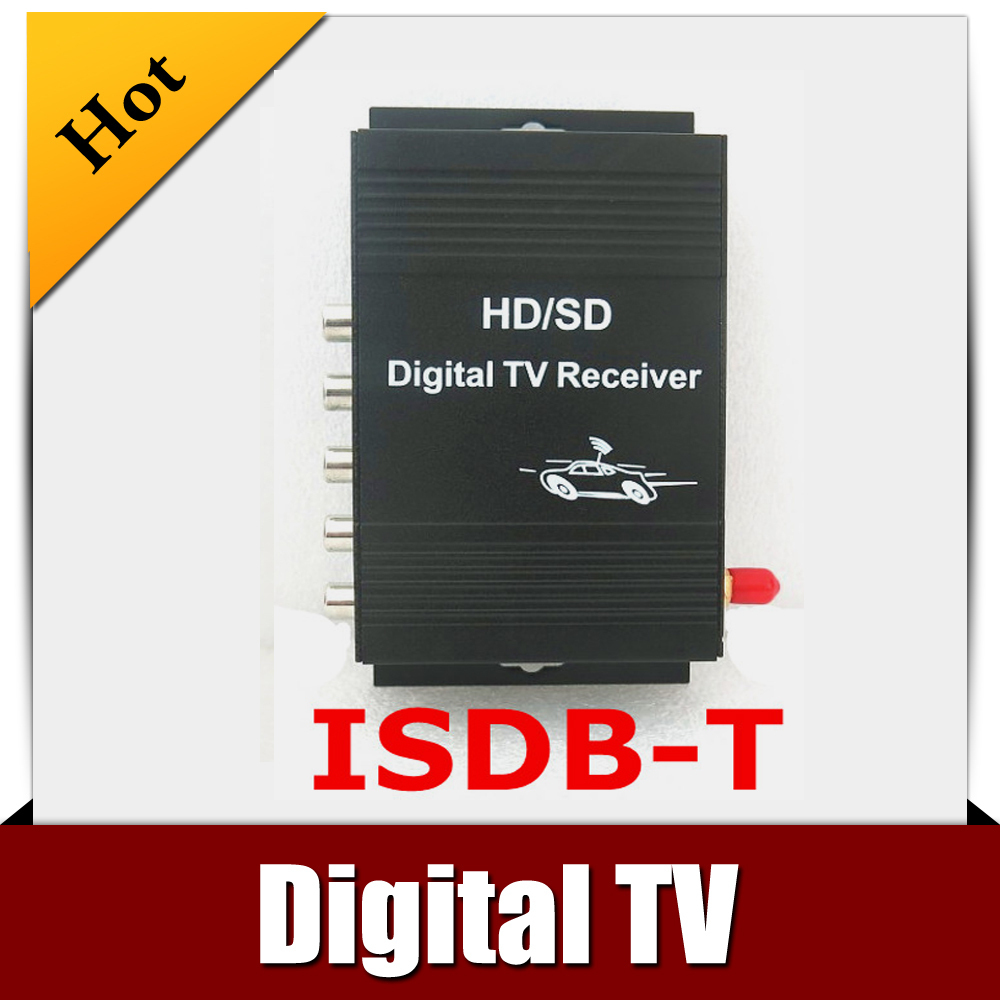 Car ISDB-T MOBILE DIGITAL TV TUNER Receiver for Brazil/South America/ North America