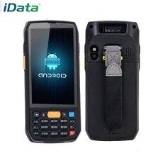 IData70 высокоэффективный мобильный компьютер Android 6,0 сборщик данных инвентарная машина КПК 1D 2D штрих-код ручной терминал 5000 мАч