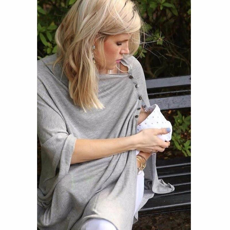 efe213cb6 Maternidad lactancia materna enfermería cubre chal de lactancia de algodón  bebé alimentación cubre Venta caliente