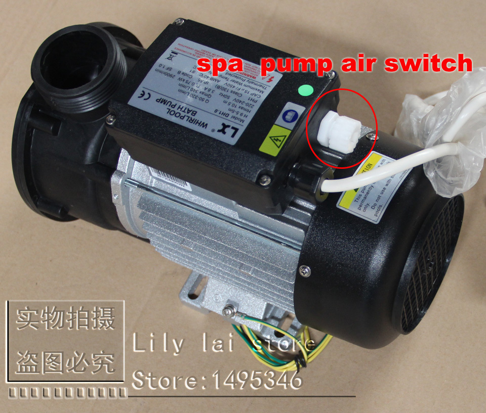 LX pump air switch for TDA, Spa Hot Tub Bath Pump Blower Air Switch ...