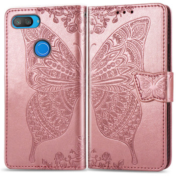 3D Butterfly Wallet Flip Case For Xiaomi Redmi 7A 6A 5 Plus 4A 4X Note 5A 4 5 7 6 Pro Go F1 Mi A1 5X A2 8 Lite 9 se 5A 6A Cover 1