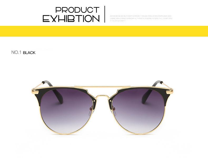 HTB1EMljfGmgSKJjSsphq6Ay1VXak - Luxury Vintage Round Sunglasses Women Brand Designer 2018 Cat Eye Sunglasses Sun Glasses For Women Female Ladies Sunglass Mirror