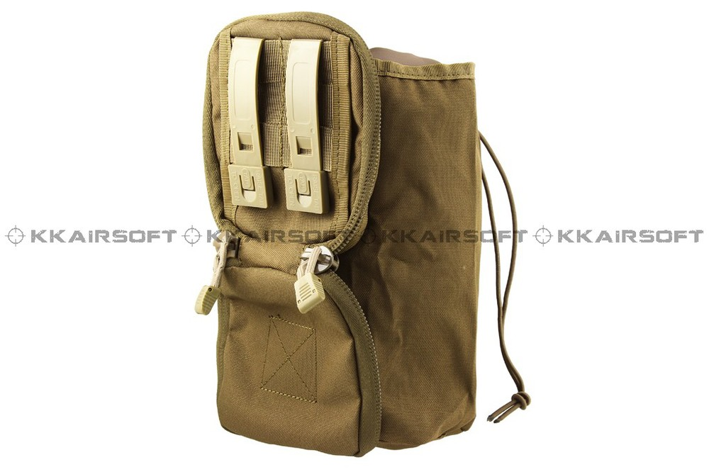 MOLLE tactical recycle bag invisible debris recycle bag (Coyote Brown) bd8510