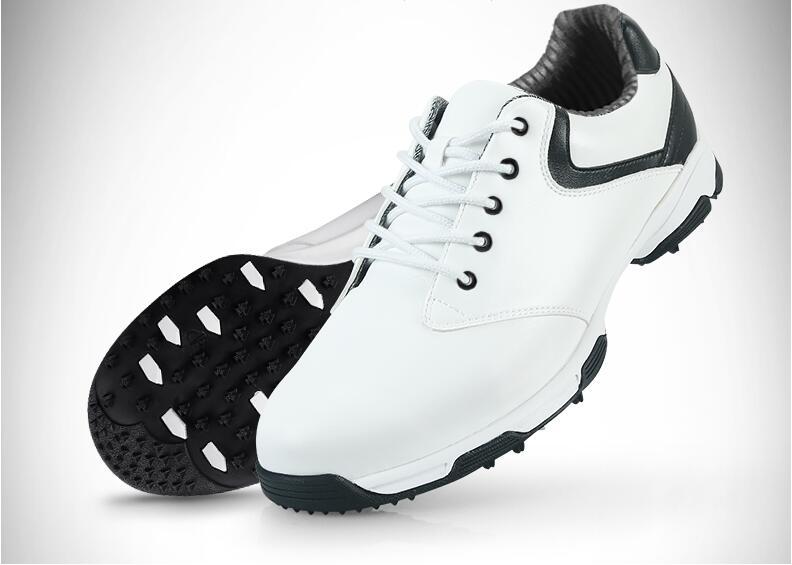 Лидер продаж! PGM для взрослых мужские Гольф спортивные Обувь анти-заносить Технология и Водонепроницаемый и дышащий и легкий Вес, Бесплатна...