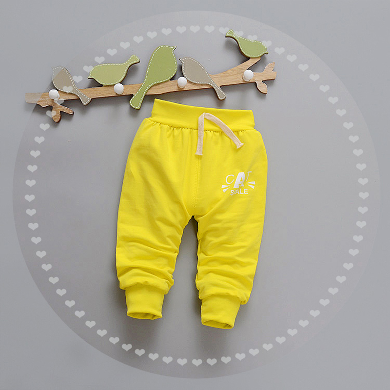 Letter Baby Pants Cotton Boys Girls Trousers Spring Autumn Boys Pants Elastic Waist Girls Trousers 2017 Baby Clothing 9-24Months (13)