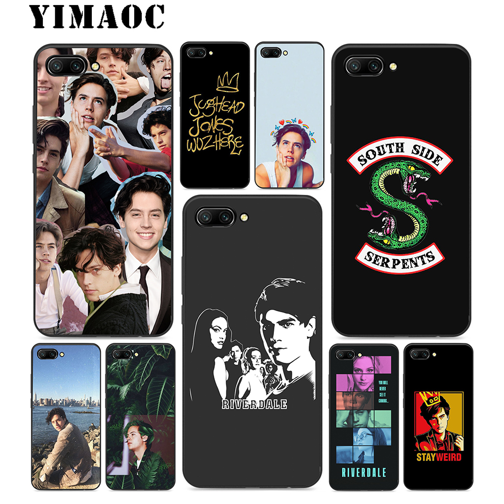 YIMAOC American TV <font><b>Riverdale</b></font> Soft Silicone <font><b>Case</b></font> For <font><b>Huawei</b></font> Honor <font><b>Mate</b></font> <font><b>10</b></font> P20 P10 P9 P8 P Smart Y6 6A 7A 7X 7C <font><b>Lite</b></font> Pro 2017 2018 image