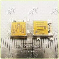 High Quality Jack Mini USB Connector Mini Usb Charging Port For Philips 4 SMT 10pins Usb