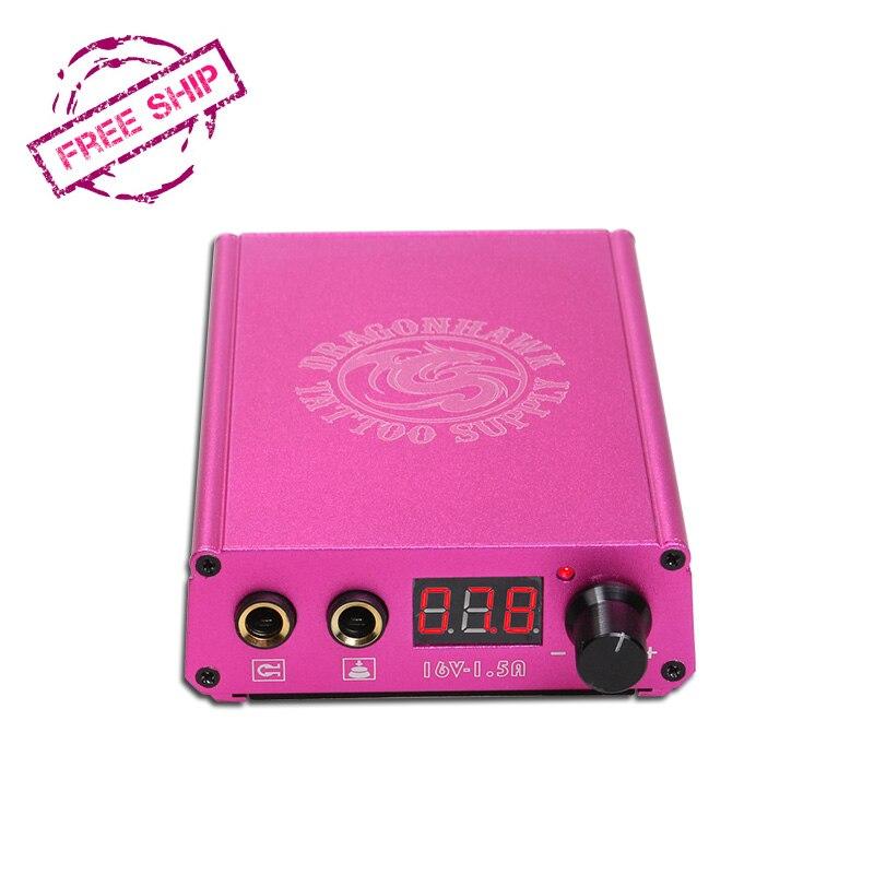 Ketibaan Baru Bateri Litium Power Box Tatu Dragonhawk LCD Untuk Mesin - Seni tatu dan badan - Foto 3