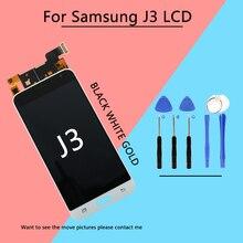 Дешевые 5,0 J3 ЖК-дисплей для SAMSUNG J3 2016 J3 2016 ЖК-дисплей Сенсорный экран планшета Дисплей для SAMSUNG GALAXY J3 2016 J320 J320FN бесплатная доставка