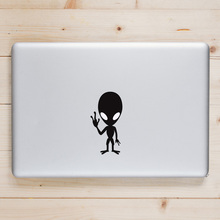 Glowing ET Alien Laptop Sticker for Apple Macbook Decal Pro Air Retina 11 12 13 14 15 inch HP Mac Book Skin Notebook Sticker