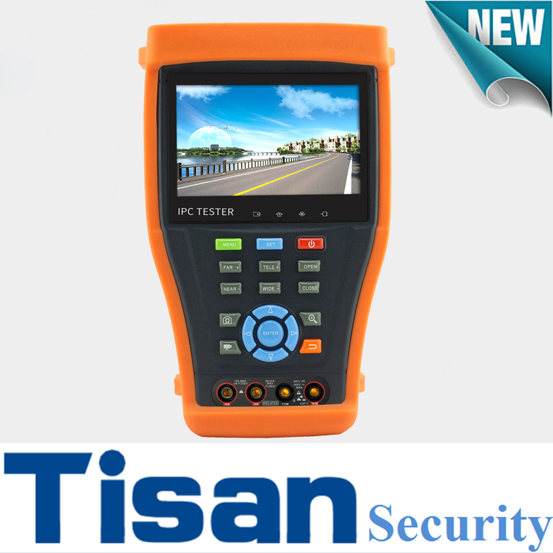 4.3 inch Analog 3.0 TVI AHD CVI IP Camera tester in 1 cctv tester with Cable Tracer testing and digital multiple meter bernard s schweigert microwaves in the food processing industry
