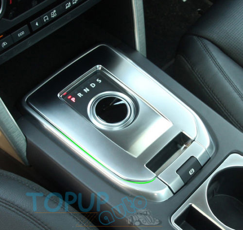 CHROME SHIFT GEAR COVER PANEL TRIM FRAME GARNISH FIT FOR LAND ROVER 2015 DISCOVERY SPORT
